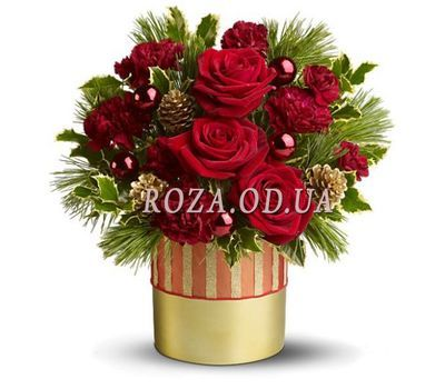"""Christmas composition"" in the online flower shop roza.od.ua"