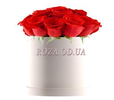 """""""Roses in a Box"""" in the online flower shop roza.od.ua"""