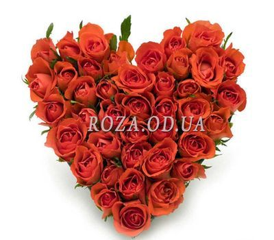 """Heart of roses"" in the online flower shop roza.od.ua"
