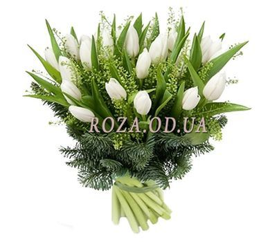 """Tulips for the New Year"" in the online flower shop roza.od.ua"