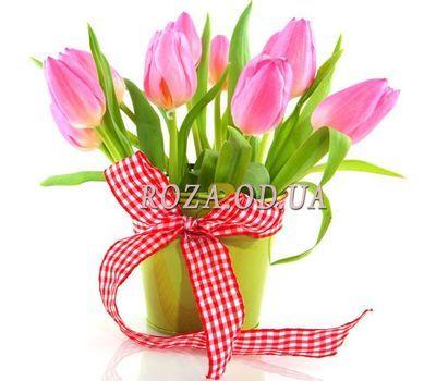 """""""Тюльпаны в кашпо"""" в интернет-магазине цветов roza.od.ua"""