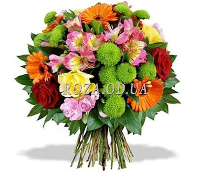 """""""Funny bouquet of flowers"""" in the online flower shop roza.od.ua"""