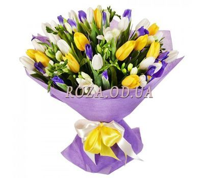"""Spring bouquet"" in the online flower shop roza.od.ua"