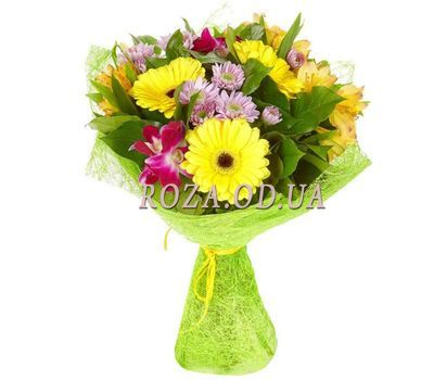"""Bright bouquet Odessa"" in the online flower shop roza.od.ua"