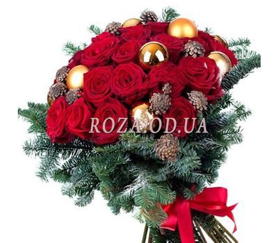 """""""New Years bouquet"""" in the online flower shop roza.od.ua"""