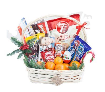 """Baby gift basket"" in the online flower shop roza.od.ua"