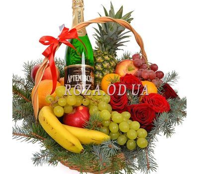 """Good New Year spirit"" in the online flower shop roza.od.ua"