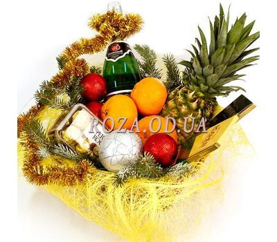 """New Years surprise"" in the online flower shop roza.od.ua"