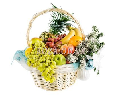 """Christmas fruit"" in the online flower shop roza.od.ua"