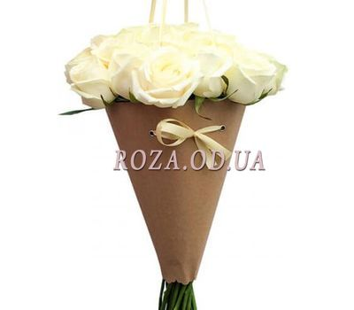 """Roses in the cone"" in the online flower shop roza.od.ua"